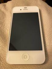 Apple iPhone 4s 16GB White (Locked To Virgin Mobile) Vintage iOS Smartphone