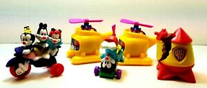 Lot of 5 1993 Animaniacs McDonalds Happy Meal Toys