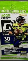 2020 PANINI DONRUSS FOOTBALL FAT PACK - 30 Cards BURROW, TUA, HERBERT RC's!