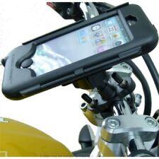 Soportes negros Apple para teléfonos móviles y PDAs