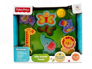 Fisher Price Silly Sounds Puzzle Animal Characters Fun Sounds