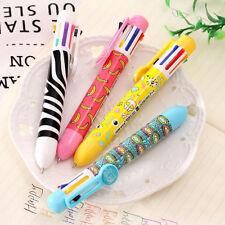 Creative Stationery Multi-Color Ballpoint Pen 8 colors Ballpoint Pen Study Pen 0