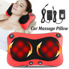 Electric Heat Massage Pillow Relax Neck/Back/Shoulder Massager Cushion