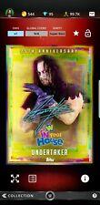 Topps WWE Slam Digital Card Undertaker In your house anniversary sig award