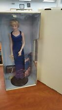 Diana - Princess of Style - Porcelain Portrait Doll - Franklin Mint