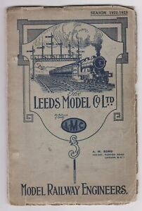 THE LEEDS MODEL CO LTD SEASON 1922/23 CATALOGUE
