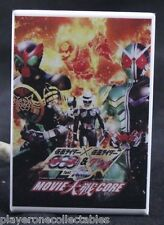 Kamen Rider Core Movie Poster - Fridge / Locker Magnet. Tokusatsu W OOO Skull