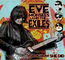 EVE MONSEES & The EXILES - You Know She Did (2015 Serpent) CD - NEW