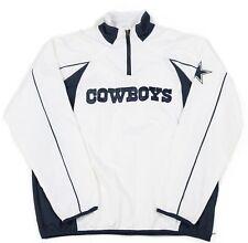 Nfl Dallas Cowboys Windbreaker 1/4 Zip   Men's Xl   Pullover Wind Sweatshirt