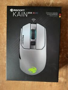 ROCCAT Kain 202 AIMO Wireless RGB Gaming Mouse White