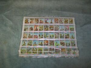 1978-1979 Mexico 20 cent stamps sheet of 50