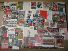 NOTTINGHAM FOREST FC Large Collection Of Magazine Pictures 1950s to 1990s
