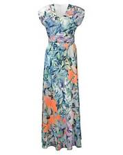 Joanna Hope Print Maxi Dress Multicolored Size UK 16 Dh089 QQ 30