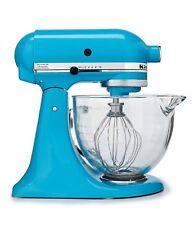 *Brand New* KITCHENAID 5qt Tilt-Head Stand Mixer Glass Bowl  - Crystal Blue