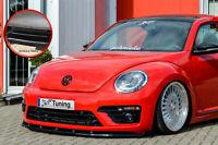 Spoilerschwert Frontspoiler aus ABS für VW Beetle 5C 16 R-Line Schwarz Glanz