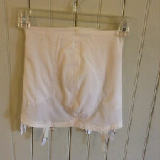 Vintage 5381 Voge Bra open bottom girdle w/ 6 garters size med