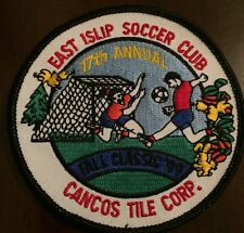 1999 East Islip Soccer Club 17th Annual Fall Classic Tournament Patch