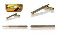 Kaweco Liliput Ballpoint Pen Brass with cap