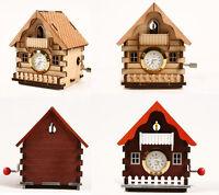 Cuckoo House Clock Orgel / Wooden model kit / youngmodeler