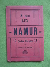 Namur album Lux postcards foto ricordo vintage collectable 1915