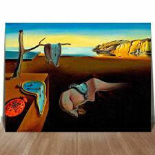 """SALVADOR DALI PERSISTANCE OF MEMORY CANVAS PRINT 8x10"""" SURREAL ART"""