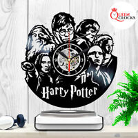 Harry Potter Voldemort Vinyl Record Wall Clock Birthday Gifts Ideas Home Decor