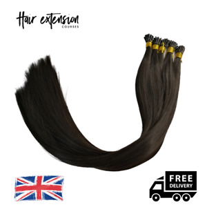 Micro Ring   i Tip Practice Hair   Stick Tip Hair Extensions - 100 Strands
