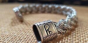 JOHN HARDY Sterling Silver Braided Chain Bracelet