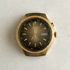 Seiko Bell Matic 4006 6060 gold plated for repair
