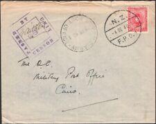 EGYPT, 1940. Censor 93, Cover M15, N.Z. FPO 1, Cairo
