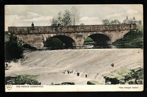 Caergwrle, The Bridge - colour printed postcard