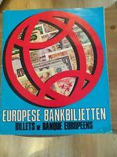 album chromo complet billet de banque européen 1978
