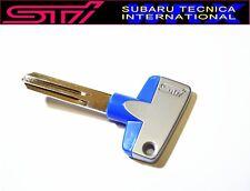 NEW!!SUBARU STI Titanium Key Blank Master Baja  OEM JDM  GC8 Impreza WRX