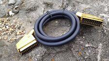 Hochwertiges Scart-Kabel gold Professional - vergoldete Kontakte - 1,5m NEU
