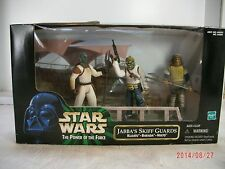 STAR WARS POTF JABBA'S SKIFF GUARDS ~ KLAATU, BARADA and NIKTO ~ MISB