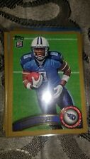 2011 Topps Gold #'d 1526/2011 #382 Jamie Harper RC Tennessee Titans