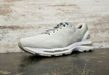 Mens Asics Gel Nimbus 19 Running Shoes Sz 10.5 44.5 T700N Light Gray Used Read