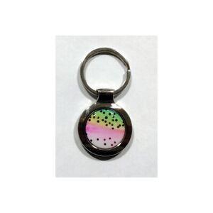 Rainbow Trout Keychain