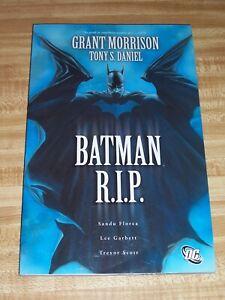 Batman: R.I.P Trade PaperBack! (2010) NM!
