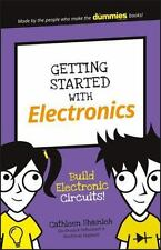 GETTING STARTED WITH ELECTRONICS - SHAMIEH, CATHLEEN - NEW PAPERBACK BOOK