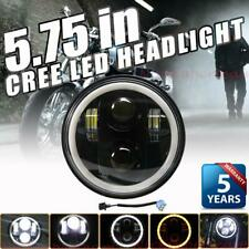 DOT 5.75 Inch Round 90W LED Headlight For Harley Dyna Low Rider FXDLS Sportster
