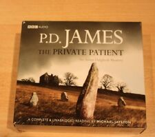 P.D. James ..The Private Patient.. Complete and Unabridged Audio Cds