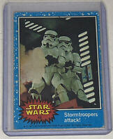 STORMTROOPERS ATTACK! 1977 Star Wars Topps Trading Card #42