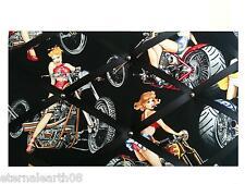 Harley/Biker Pin Up Gals 40 x 30cm Pin Board Notice Boards Memo / Message Board