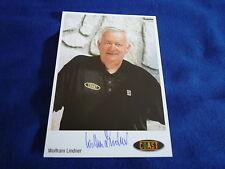 Tungsteno Lindner SIGNED AUTOGRAFO 10x15 cm OLYMPIA GOLD 1988 DDR allenatore nazionale