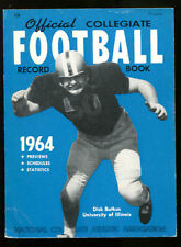 1964 Official NCAA Football Guide Rule Book Ex Condition Dick Butkus Illinois