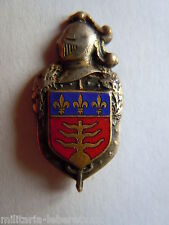 Insigne boutonnière GENDARMERIE NATIONALE N°6 ORIGINAL 22 mm