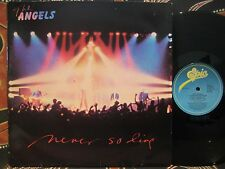 "THE ANGELS Never So Live 1981 4 song 12"" EP"