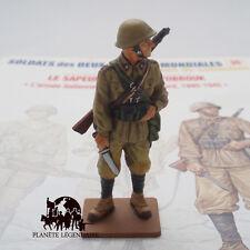 Figurine Collection Del Prado soldat DELPRADO plomb Sapeur Italien Tobrouk 1942