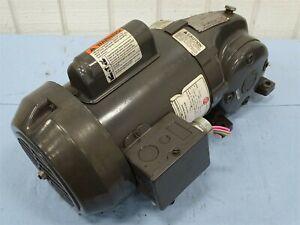 US Motors E525-SEP Gearmotor 1/2HP 1725RPM 60Hz 1Ph 115/208-230V 7.8/3.6A
